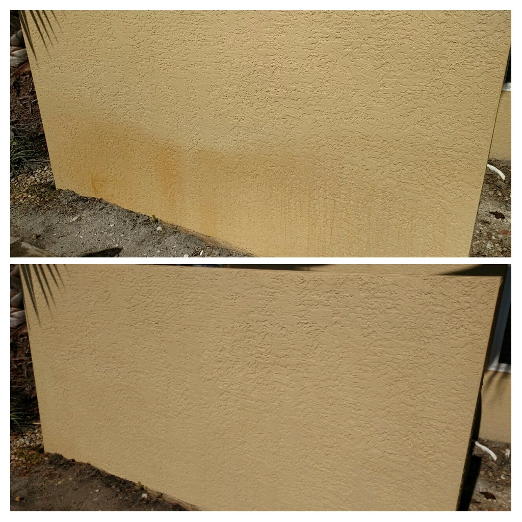 Transformation tuesday top down exterior home cleaning - Exterior home cleaning ...